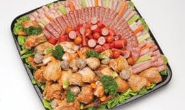 Chicken & meat selection