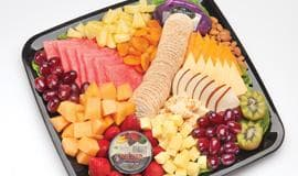 Fruit & cheese selection